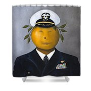 Naval Officer Shower Curtain