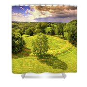 Navan Fort Shower Curtain