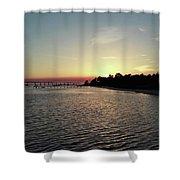 Navarre Florida Sunset Shower Curtain