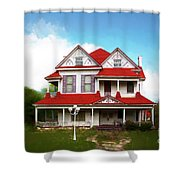 Navasota 3 Shower Curtain