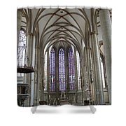 Nave - St Lambertus - Germany Shower Curtain