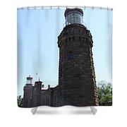 Navesink Twinlights Shower Curtain