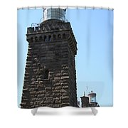 Navesink Twinlights II Shower Curtain