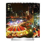 Navy Pier Shower Curtain