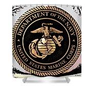 Navy Seal Shower Curtain