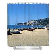 Nazara Beach Shower Curtain