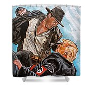 Nazis. I Hate Those Guys. Shower Curtain