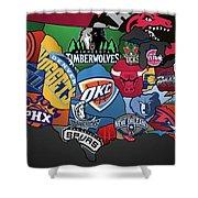 NBA Shower Curtain