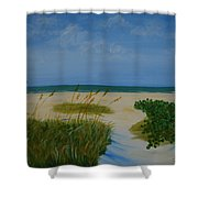 Nc Beach Shower Curtain