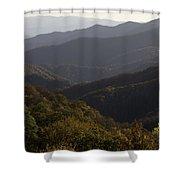 Nc Fall Foliage 0596 Shower Curtain