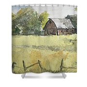 Near Cedar Falls, Ia Shower Curtain