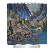 Near Hayden Spires Shower Curtain