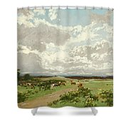 Near Liverpool. New South Wales Shower Curtain