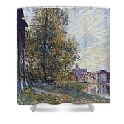Near Moret Shower Curtain