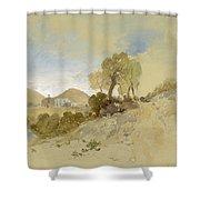 Near San Francisco, Mexico, March 1, 1883 Shower Curtain