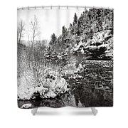 Near Telluride Colorado Shower Curtain
