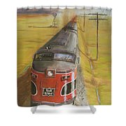 Near Thistle  Ks Shower Curtain