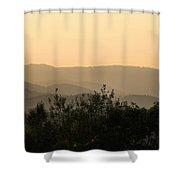 Nearing Sunset Shower Curtain