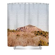 Nearly Deserted Shower Curtain