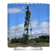 Nearly Naked Shower Curtain