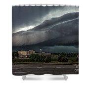 Nebraska Shelf Cloud 2 Shower Curtain