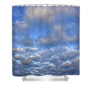 Nebraskan Altocumulus Clouds Shower Curtain