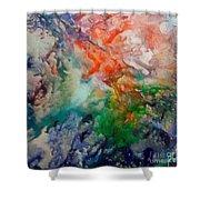 Nebula Algol Shower Curtain
