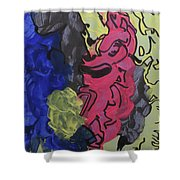 Nebulae 2 Shower Curtain