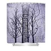 Neck Of The Woods II  Shower Curtain