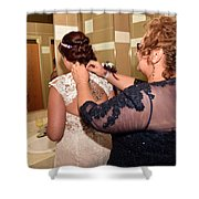 Necklace Shower Curtain