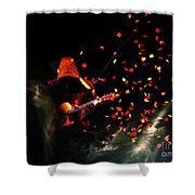 Necromancer Shower Curtain