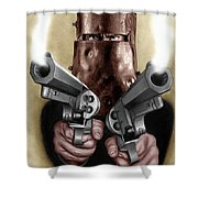 Ned Kelly Painting Shower Curtain
