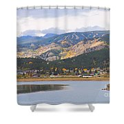 Nederland Colorado Scenic Autumn View Boulder County Shower Curtain