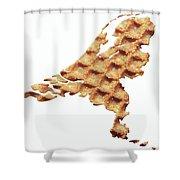 Nederland Stroopwafelland Shower Curtain