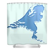 Nederland Waterland Shower Curtain