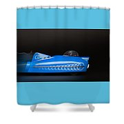 Need For Speed Shower Curtain by Rudy Umans