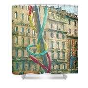 Needle And Thread Milan Italy Shower Curtain