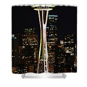 Needle At Night Shower Curtain