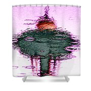 Needle In A Raindrop Stack 2 Shower Curtain