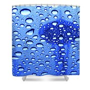 Needle In Rain Drops H006 Shower Curtain