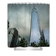 Needle Shower Curtain