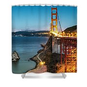 Needles At The Ggb Shower Curtain