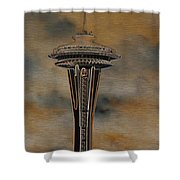 Needles Edge 2 Shower Curtain
