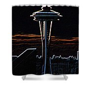 Needles Edge Shower Curtain