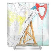 Nefteyugansk Shower Curtain