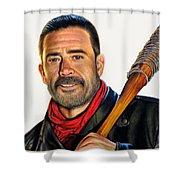 Negan - The Walking Dead Shower Curtain