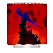 Negan Triumph  Shower Curtain
