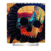Negative Relations 3 Shower Curtain