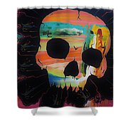 Negative Relations 5 Shower Curtain