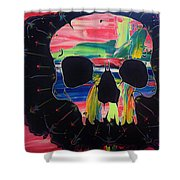 Negative Relations 6 Shower Curtain
